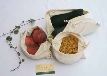 sac à vrac nature en coton biologique