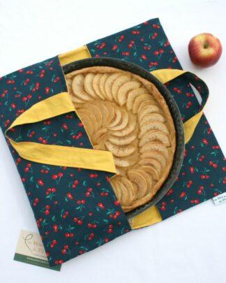sac à tarte cerises