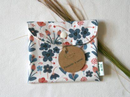 pochette à savon bio et imperméable - Lilly