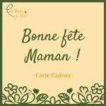 carte cadeau - spécial fête des mères