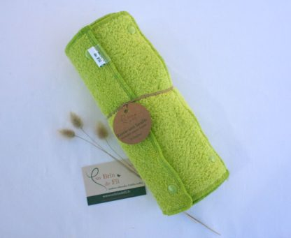 essuie-tout lavable vert anis